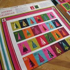 Christmas wrap advent calendar panel by Makower