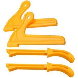 4-Piezas-T1-T2-Proteccion-De-Mano-Juego-De-Varilla-De-Empuje-De-Sierra-Para-Q4Y2