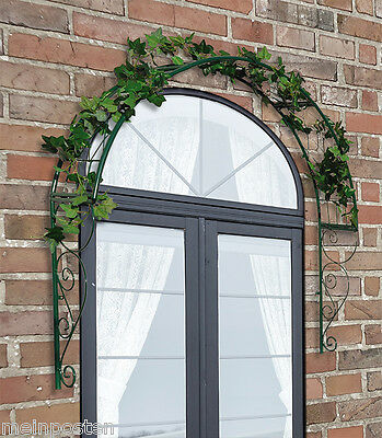 Rose Arch Trellis for Door/Window Turbulent Curvation 39.4x8.3x42.1in / 62292