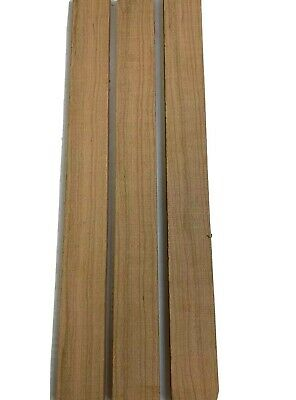 """1-1//2/"""" x 3//8/"""" x 5/"""" Cherry Lumber Blank DIY Material for Knifemakers Book Match"""
