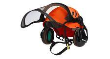 Husqvarna Technical Arborist Chainsaw Helmet Ear Defenders And Visor Adjustable