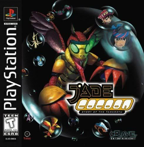 Jade Cocoon Story Of The Tamamayu PS1 Great Condition Fast Shipping