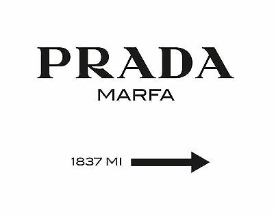TIME4ART PRADA MARFA Gossip Girl CANVAS PRINT ALL SIZES Art WALL Scandinavian