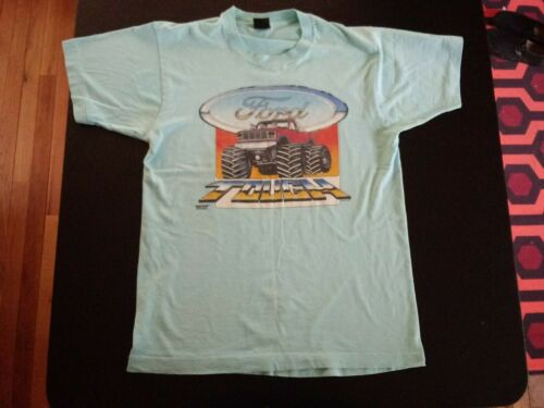 Vintage Ford Tough Size L shirt F150 1987 Bigfoot