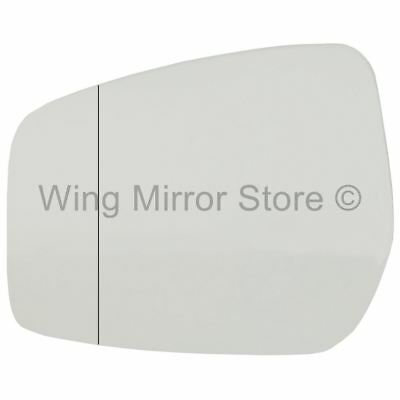 Right hand driver side for Nissan Note 2013-2016 convex wing door mirror glass