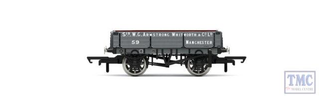 R6859 Hornby OO Gauge 3 Plank Wagon, Armstrong Whitworth & Co. Ltd - Era 3