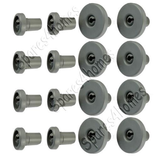 Genuine Electrolux Full set of Dishwasher Wheels For ESL63010 Upper /& Lower