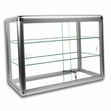 Key Locking Counter Top Display Case 24 Wide By 12 Deep And 18 Tall