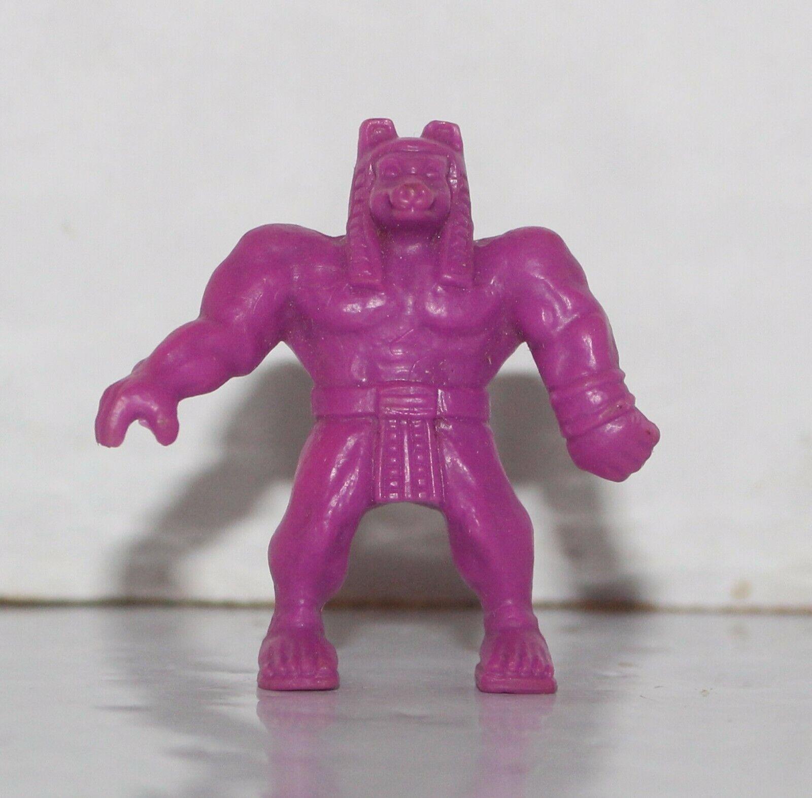 Vintage monstruo en mi bolsillo MIMP  75 Anubis luz púrpura