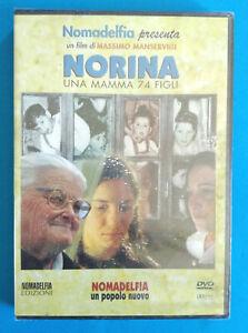 DVD Film Ita Drammatico NORINA Una Mamma 74 Figli Nomadelfia no vhs cd lp (D2)