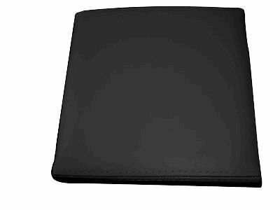 FITS RANGE ROVER BLACK LEATHER CENTRE CONSOLE COVER NEW