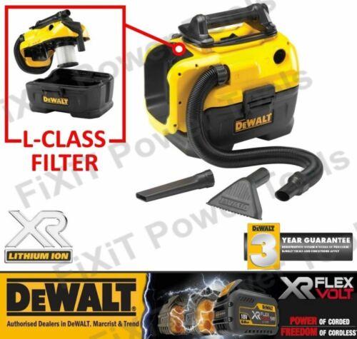 DEWALT DCV584L Class Cordless WET//DRY Dust Extractor FLEXVOLT 14.4//18V//54V NEW