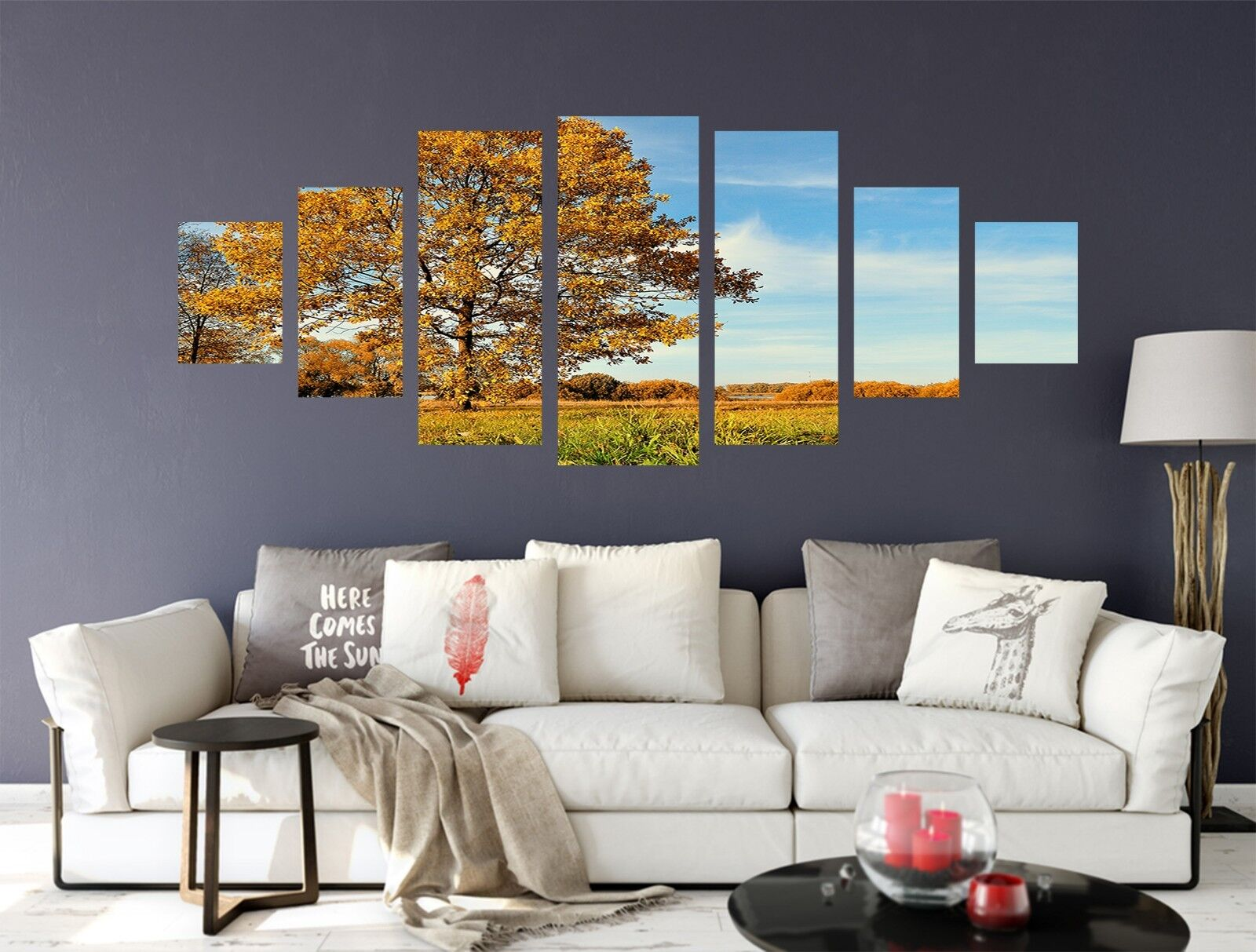 3D Tree Lawn 771 Unframed Print Wall Paper Decal Wall Deco Indoor AJ Wall Jenny