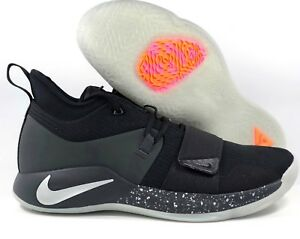550d81d6b9af Nike PG 2.5 Black Pure Platinum Anthracite Orange Pink BQ8452-004 ...