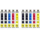 10 Cartuchos De Tinta Compatibles para reemplazar T0715 & T0711 1 x Set+Negro