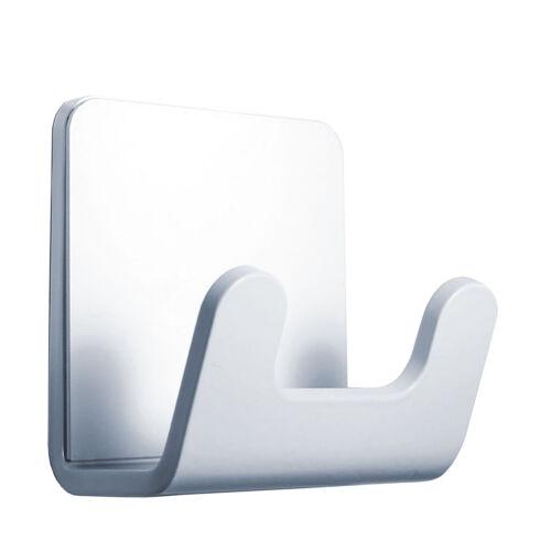 Radius Radius Puro Handtuchhaken weiß glänzend zum Kleben weiß glänzend 8,3 x 5,