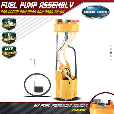 New Fuel Pump Assembly Fits 1998-2004 Dodge Ram 2500 Ram3500 L6 5.9L E7187M