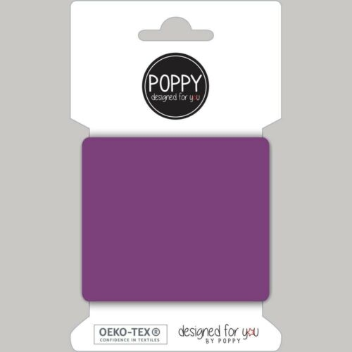 Plain Ready Made Cuffs Cuffing Ribbing Fabric Purple