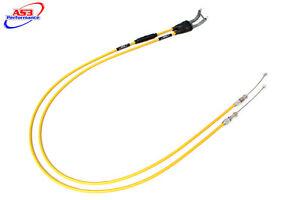 Suzuki RMZ 450 2006-2007 AS3 Venhill federleicht Gas- Kabel gelb