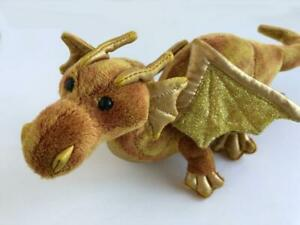 2012-Douglas-Dragon-Topaz-Gold-Wings-Multi-Color-Plush-12-034-New-no-Paper-Tag-728
