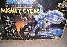 MOTU HE-MAN ~ MIGHTY CYCLE TONKA BIG WHEEL SUPER RARE UNASSEMBLED 1980's HE MAN