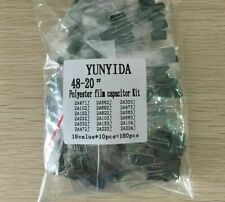 Polyester Film Fixed Capacitor With 2 Pin Assorted Kits For Lighting 180pcslots