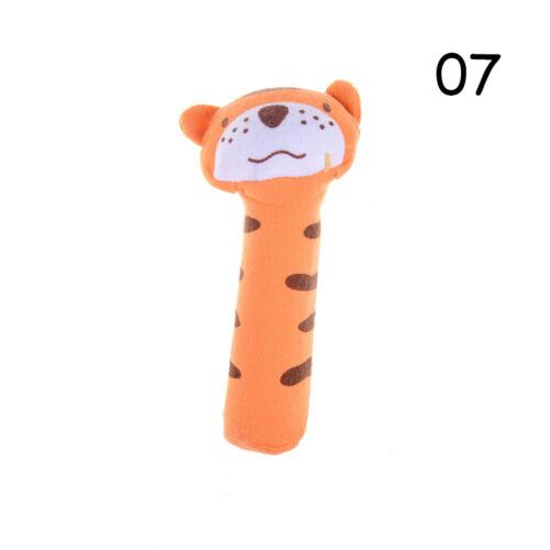 Baby Rattle Toy BIBI Bar Animal Squeaker Toys Infant Hands Puppet Plush-Doll JDU