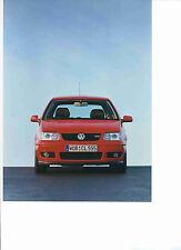 Foto Fotografie photo photograph VW Pressepoto POLO GTI 03/2001 SR1016
