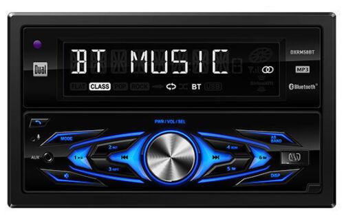 Dual DXRM58BT Bluetooth In-Dash CD//AM//FM//Digital Media Car Stereo Receiver NEW