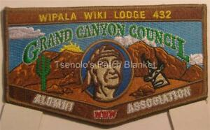 Wipala Wiki Lodge 432 2015 Flap Hoover Dam Mint Condition FREE SHIPPING