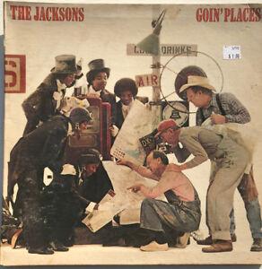 The-Jacksons-Goin-039-Places-LP-Vinyl-Record-Original-1977-Pressing