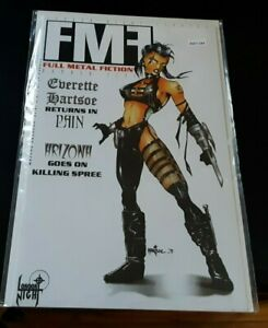 Full-Metal-Fiction-5-Pain-Killing-Spree-MATURE-High-Grade-Comic-Book-RM7-184