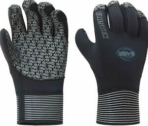 Bare-Gloves-5mm-Elastek-Black-WETSUIT-Scuba-Snorkeling-2XS-Unisex