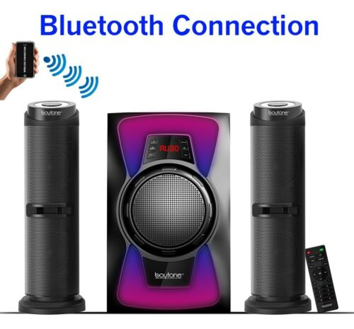 Boytone BT-424F 2.1 Bluetooth Home Theater Speaker System USB//SD//AUX//FM
