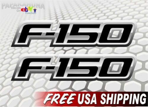 2 F-150 FX4 XLT XTR SPORT RAPTOR Decals Ford F150 Emblem Vinyl Stickers