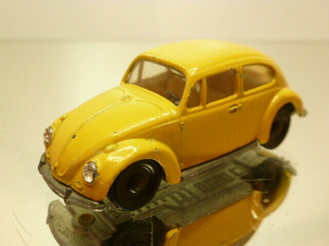 SIKU V230 VW VOLKSWAGEN BEETLE - giallo L6.6cm VERY RARE - GOOD CONDITION