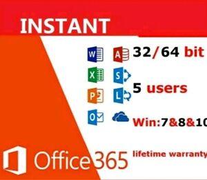 Office-Home-personnelle-peripheriques-Pro-5-PC-MAC-365-Telecharger