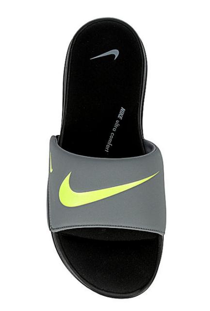 Nike Ultra Comfort 3 Men's Slide Sandals black/volt/grey ar4494-008