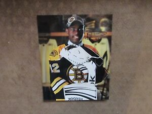 Malcolm Subban Signed Autographed 8x10 Photo J5 Boston Bruins Nhl
