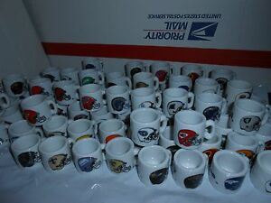 1-1990-039-s-NFL-FOOTBALL-MINI-PORCELAIN-MUG-CUP-YOU-CHOOSE-TEAM-5-BONUS-CARDS