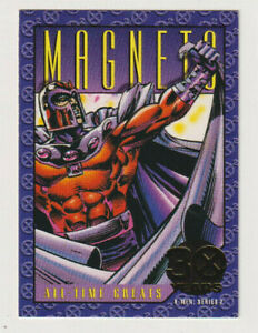 X-Men-Series-2-Trading-Card-Gold-Magneto-30th-Anniversary-Skybox-1993