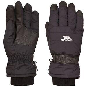 Trespass-Mens-Womens-Ski-Gloves-Water-Resistant-Lightly-Padded-Gohan-II