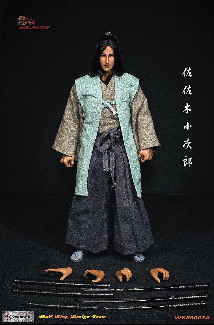 1/6 Wolfking WK89007A Sasaki Kojiro Japan Samurai 佐佐木小次郎 12  Action Figure