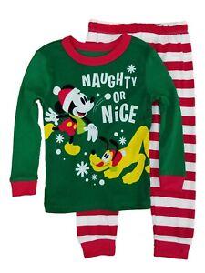 f037b1089 Disney Boys Mickey   Pluto Naughty or Nice 2pc. Knit Sleepwear ...