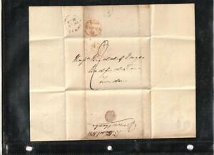 1831-Great-Britain-Postal-History-Stampless-Letter-from-Norwich-to-London-VF