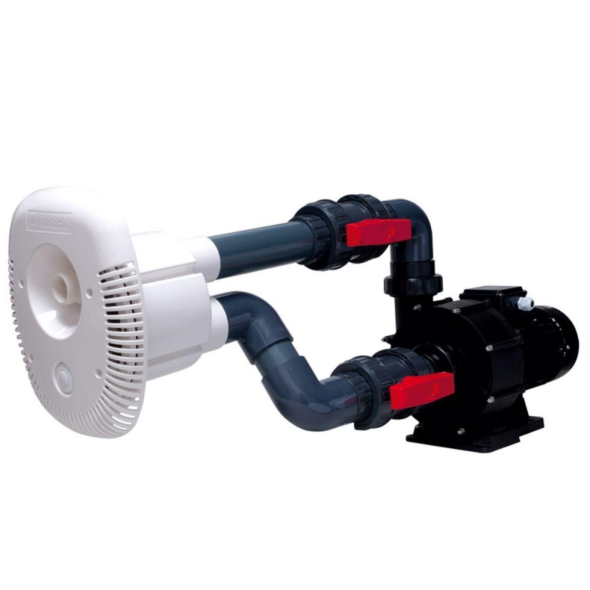 Gegenstromanlage Brilix Elegance 70  230 oder 400V Anlage Sofort Lieferbar