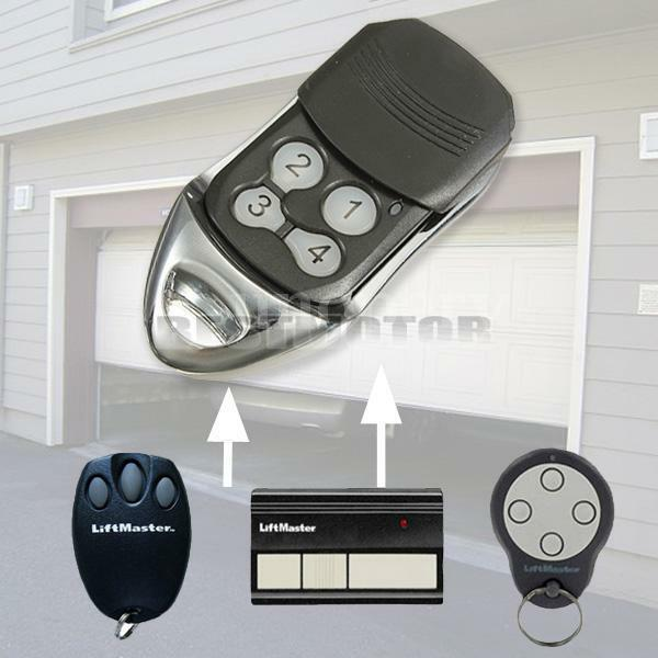 REPLACEMENT GARAGE GATE DOOR REMOTE CONTROL 4 BUTTONS FOR LIFTMASTER 433MHz