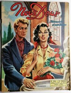 #137 Revue Hebdomadaire Nous  Deux Pèlerinage N 466 de 1956