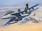 Revell 04864 Kit F A-18f Super Hornet Twin Seater in 1 72