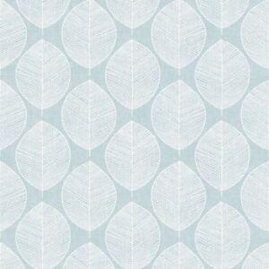 Sarcelle-Scandi-Feuille-Papier-Peint-Arthouse-908201-Neuf